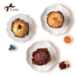 Tre Marie Muffin ai Mirtilli